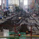 Döbbenetes fotósorozat a tajvani gázrobbanásról
