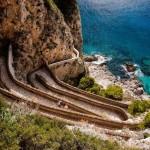 Via Krupp – kanyargós gyalogút Capri szigetén