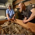 Kiállítja a pincéjében megtalált 6500 éves csontvázat az amerikai múzeum