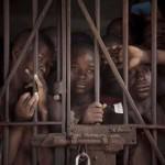 Sierra Leone túlzsúfolt börtöne