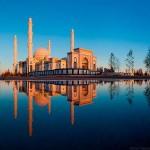 Közép-Ázsia legnagyobb mecsetje, a Hazrat Szultán mecset