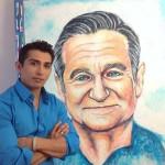 A művész, aki fogkrémből készít portrékat