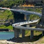 Sea Cliff Bridge – Látványos tengerparti híd Ausztrália partjánál