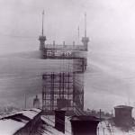 Photo: Stockholm telefontornya a múlt században