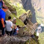 A Machu Picchu félelmetes hegyi útvonala