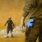 Photo: Elgondolkodtató, szatirikus alkotások a társadalmunkat formáló Facebookról