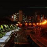 A nap képe – kontraszt az utcai közvilágításban
