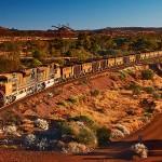 8 perces videón a világ leghosszabb és legnehezebb vonata