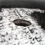 Photo: Hatalmas lyuk keletkezett egy orosz faluban