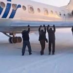 Utasok toltak meg egy repülőgépet Szibériában