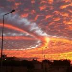 Különleges égi jelenséget láttak Tunézia felett