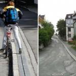 Biciklis felvonó Norvégiában