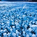 A fagyott természet csodálatos képződményei