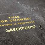 Greenpeace-aktivisták taposták össze a Nazca-vonalakat
