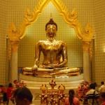A legnagyobb tömör arany Buddha-szobor a világon