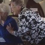 Az első repülés élménye – két nagymama, akik életükben először utaztak repülőn