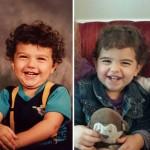 Mint két tojás – gyerekek, akik hihetetlenül hasonlítanak a szüleikre
