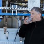 Tisztított szennyvizet ivott Bill Gates