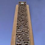 A világ legnagyobb függőleges labirintusa, a dubai labirintus-torony