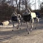 Rendkívül ügyes a Boston Dynamics legújabb négylábú robotja
