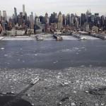 Fagyos hangulat – fotókon a jégbe zárt New York