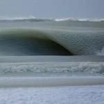Photo: Jégkásává fagyott az óceán a szokatlan hidegben
