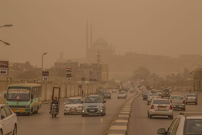 Homokvihar Egyiptomban
