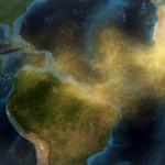 Látványos videó a szaharai homok Amazonas-medencébe vándorlásáról