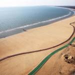 Kína leghosszabb fából épített tengerparti sétánya