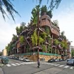 Zöld oázis a városban – a torinói faház
