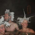 A fagyott hajak versenye Kanadában