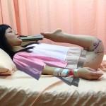 Adományozóknak köszönhetően végre megtehette élete első lépéseit egy fiatal kínai nő