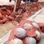 Dinoszaurusztojásokra bukkantak útépítők Kína déli részén