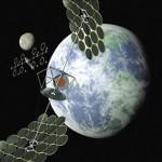 Hatalmas napelemes erőművet építene Kína az űrben