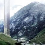 381 méter magas luxushotelt építenének fel a svájci Alpokban