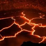 Látványos felvétel a Kilauea vulkán lávafolyamáról