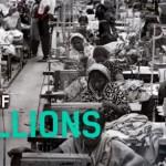 Éhbérért dolgozó ruhagyári munkásokra hívja fel a figyelmet egy kampány