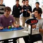 Photo: Új világrekord - 5,25 másodperc alatt rakta ki egy amerikai középiskolás a Rubik-kockát