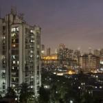 Lakóházak Mumbaiban