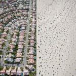 Légifelvételeken az óriási mértékű kaliforniai elsivatagosodás