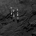 Ingókövet fedeztek fel a Csuri üstökösön