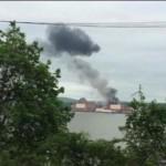 Több ezer liter olaj ömlött a Hudson folyóba egy atomerőműben történt tűz után