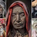 Portréfotók indiai koldusokról