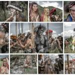 Bámulatos galéria egy elszigetelt törzsi közösségről