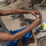 Még a tojás is megsült a napon az indiai rekordmelegben
