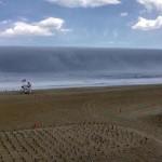 Cunaminak látszó köd jelent meg a strandon New Jerseyben