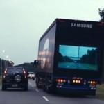 Ötletes kampány a kamionok biztonságos előzésére