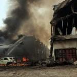 Lakott területre zuhant egy katonai repülőgép Indonéziában