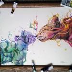 Egy tehetséges 17 éves művész alkotásai