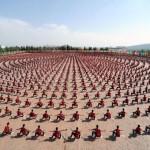 Photo: A világ legnagyobb kungfu iskolája